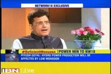 Hydel power will be affected due to low monsoon, says Piyush Goyal