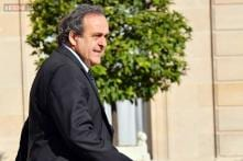 Michel Platini declines to say if he will seek FIFA presidency