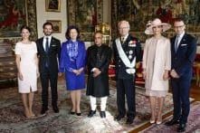 Swedish Royal family gets taste of India as President Pranab Mukherjee hosts lunch