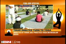 Inmates at Tihar jail turn to the benefits of yoga