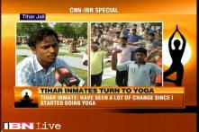 Tihar jail inmates take part in Yoga Day demonstrations