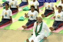PM Narendra Modi leads International Yoga Day celebrations