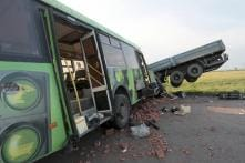 21 dead as bus collides with truck in Madhya Pradesh