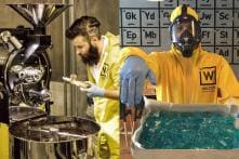 There is a 'Breaking Bad' themed coffee shop in Istanbul and it is so awesome!