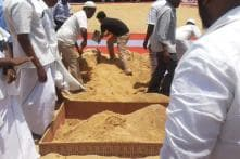 APJ Abdul Kalam laid to rest with full military honours in Rameswaram, over 1 lakh attend his funeral