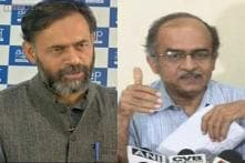 Prashant Bhushan, Yogendra Yadav take dig at AAP over defeat in DUSU polls