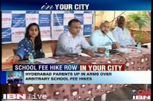 Hyderabad parents fight against arbitary fee hike