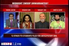 Was the midnight crackdown on FTII students unwarranted ?