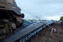 First pictures of the twin train accident in Madhya Pradesh