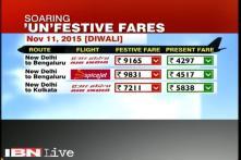 PM Modi expresses concerns over high airfares during festivals