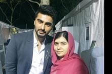 Snapshot: Arjun Kapoor star-struck by Malala Yousufzai