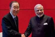 Counting on India's leadership in South Asia: UN chief tells Narendra Modi