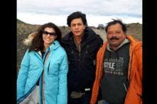 Behind-the-scenes moments of SRK, Kajol while filming 'Dilwale' in Iceland