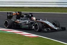 Force India driver Nico Hulkenberg finishes 6th at Japanese Grand Prix