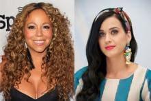 Katy Perry dedicates her New York Fashion Week performance to Mariah Carey