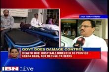 Dengue scare: Health minister JP Nadda asks hospitals to add more beds and not refuse patients