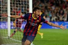 Neymar Hits 100 as Barcelona Remain on Real Madrid's Tail
