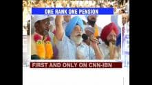 Government announces One Rank One Pension