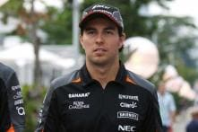 Force India's Sergio Perez qualifies 9th for Japanese Grand Prix