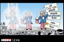Cartoon of the day: PM Modi meets top tech leaders