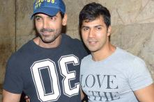 Snapshot: Arjun Kapoor, Varun Dhawan join John Abraham for 'Welcome Back' special screening