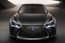 Lexus shows off hydrogen fuel cell-powered LF-FC concept sedan