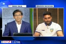 I am happy the way team is playing in ISL, says Chennaiyin FC co-owner Abhishek Bachchan