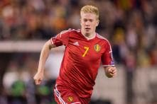 Kevin De Bruyne to be given lead role for Belgium in Euro qualifier at Andorra