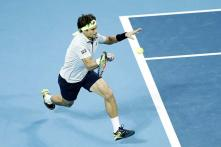 Ferrer rallies to beat Johnson in Vienna for 26th ATP title