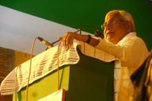 Nitish going for second marriage, no girl to garland him: BJP
