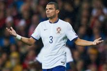 Pepe absent from Portugal's squad to face Denmark, Serbia in Euro 2016 qualifiers