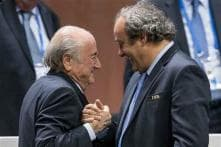 FIFA suspends Sepp Blatter and Michel Platini for 90 days
