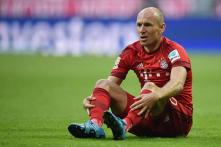 Champions League: Bayern Munich's Arjen Robben left out of squad to face Arsenal
