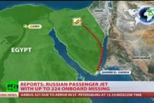 Russian airliner with 224 aboard crashes in Egypt's Sinai, all feared dead