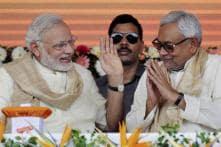 Nitish Kumar invites Narendra Modi for swearing-in ceremony on November 20