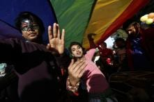 Pride Parade Paints Delhi's Jantar Mantar Rainbow After Historic SC Verdict