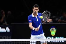 Novak Djokovic beats Thomaz Bellucci at Paris Masters