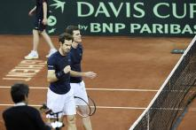 Murray brothers give Britain 2-1 lead in Davis Cup final