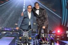 Photo of the Day: Amitabh Bachchan and Dharmendra recreate the iconic 'Jai-Veeru' scene from 'Sholay'