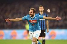 Shades of Diego Maradona as Gonzalo Higuain leads Napoli to top of Serie A