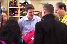 Video of Canada's PM Justin Trudeau welcoming Syrian refugees to his country gives us hope for a better world