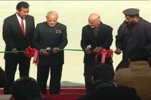 Modi inaugurates Afghan Parliament building which has an 'Atal block' named after the former Indian PM