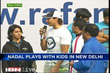 I enjoy this format of tennis; it's perfect for the IPTL: Rafael Nadal
