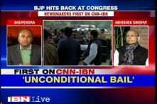 We applied for bail and we got an unconditional bail, says Abhishek Singhvi
