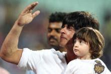 Chhota Bheem 'meets' Shah Rukh Khan and son AbRam at their residence