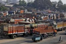 90 Lakh Truckers Begin Chakka Jam Against GST; Food Supply May be Hit