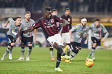 Mario Balotelli penalty helps AC Milan to win in Italian Cup semis