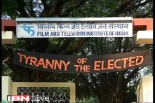 FTII protests turn violent as chairman Gajendra Chauhan visits campus