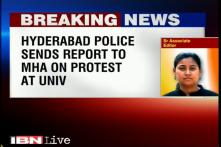 Hyderabad police send 'factual report' to MHA over Dalit suicide case