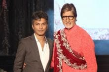 Amitabh Bachchan turns showstopper for Vikram Phadnis' 25th anniversary fashion show